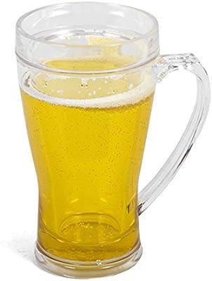 Jarra de cerveza enfriadora 400ml 17cm: Amazon.es: Hogar