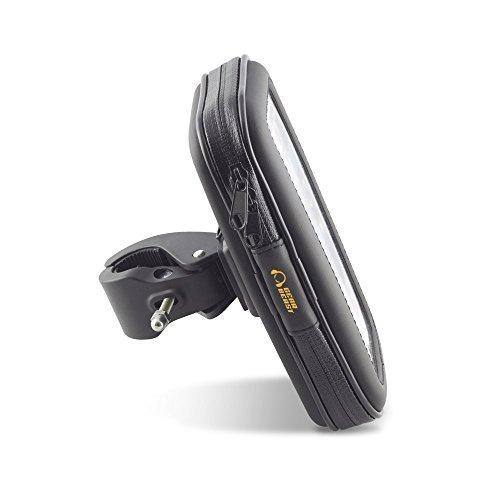 Gear Beast MNT-BWP2-BLK Universal Smartphone Waterproof Pouch Case Bike Mount Holder