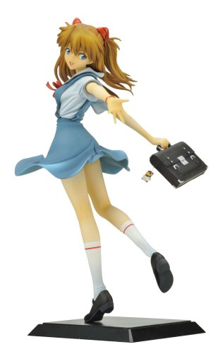 Shikinami Asuka Langley School Uniform Ver. (1/6 scale PVC Figure) Evangelion Aizu [JAPAN] by Eyes Project