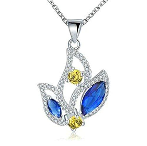 Women 925 Silver Plated Hollow Heart Pendant Necklace + Bracelet + Earrings Jewelry Set - 6