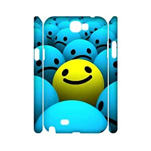 KSDHPNECASE case Of Smile Face Customized Hard Case For Samsung Galaxy Note 2 N7100