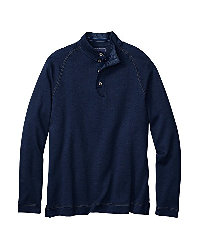 Tommy Bahama T211328 Mens Herrington Harbor Pullover Sweatshirt, Blue Note - L by Tommy Bahama