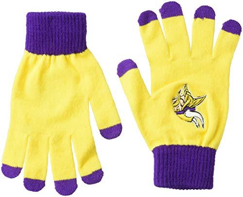 Glove Minnesota Vikings (Minnesota Vikings Solid Knit Glove)