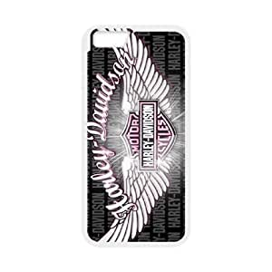 iPhone 6 Plus 5.5 Inch Cell Phone Case White Harley Davidson SAW