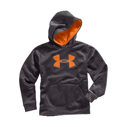 Boys' Armour® Fleece Storm Big Logo Pullover Hoody by Under Armour