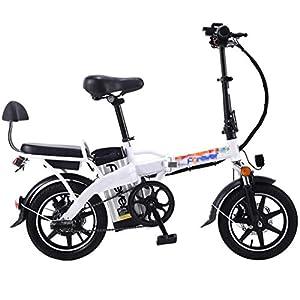 41nC8ksfIpL. SS300 JXH 14 a Città del Pieghevole E-Bike Bici elettrica con Rimovibile Grande capacità agli ioni di Litio (48V 350W), per…