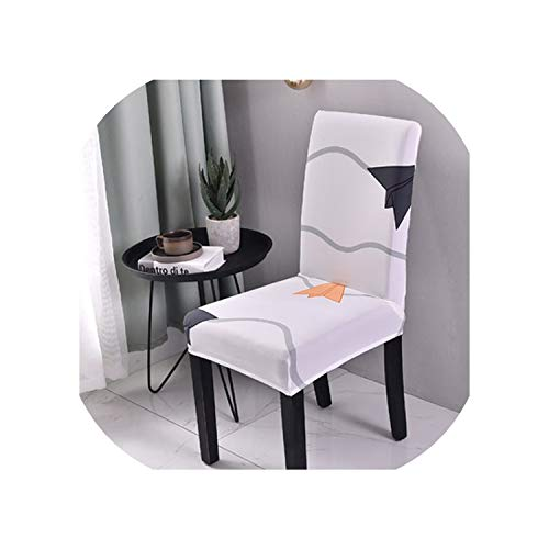 Zutty Flower Colors Flexible Stretch Spandex Chair Cover for Wedding Party Elastic Multifunctional Dining Furniture Covers Home Decor,5,Fixed Size (Covers Kmart Outdoor Furniture)