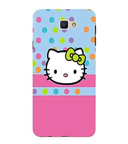 For Samsung Galaxy J7 Prime cute cat Printed Designer