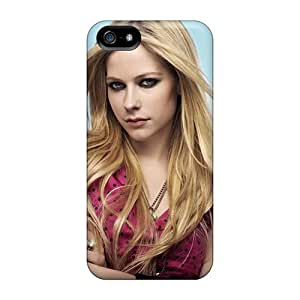 Fashion Tpu Case For Iphone 5/5s- Avril Lavigne Celebrity Defender Case Cover