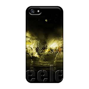 Hot Tpu Covers Cases For Iphone/ 5/5s Cases Covers Skin - Pittsburgh Steelers