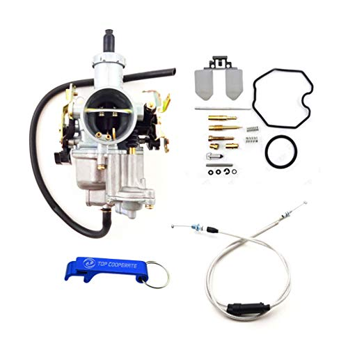 TC-Motor Keihin 30mm PZ30 Tuning Tuned Power Jet Accelerating Pump Carburetor Carb Repair Kits Gas Throttle Cable For 200cc 250cc Engine Pit Dirt Bike ATV Quad ()