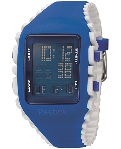 Reebok Men's Workout Z1G Digital Watch Blue RF-WZ1-G9-PLIW-LW