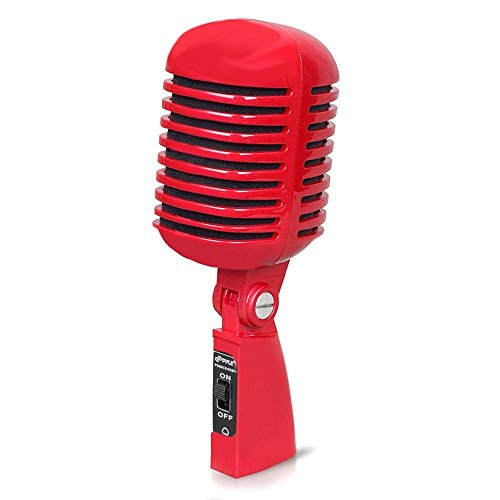 Retro Style Dynamic Vocal Microphone