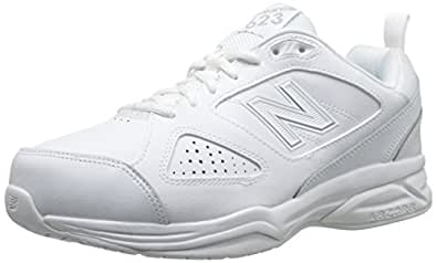 New Balance Men's MX623v3 Casual Comfort Training Shoe, White, 7 D US