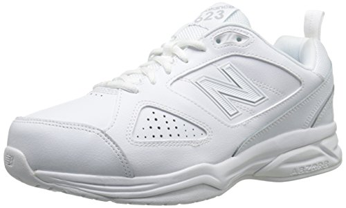 New Balance Men's MX623v3 Casual Comfort Training Shoe,  White, 10 W US