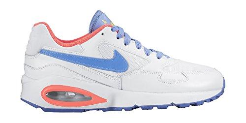 Nike Air Max 1 St (gs) Trainers 653.819 Sneakers Wit Krijt Blauw Helder Mango 108