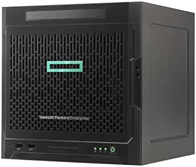 HPE 870208-001 ProLiant MicroServer Gen10 Entry - Server - Ultra Micro Tower - 8 GB RAM - 1 TB HDD - Black