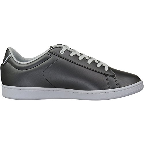 Lacoste Carnaby EVO 218 1 Gunmetal Synthetic Youth Sneakers