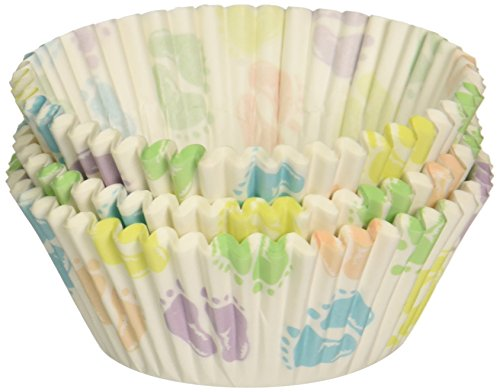 Wilton 415-113 Baby Feet Standard Baking Cups,75-Count