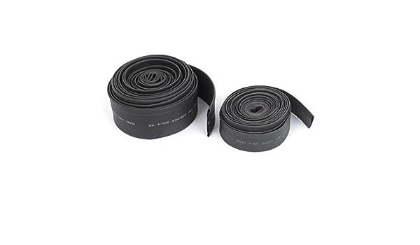 Amazon.com: 4,6 M 12 mm 20 mm Diámetro del encogimiento del calor de poliolefina encogible del tubo 2 en 1: Car Electronics