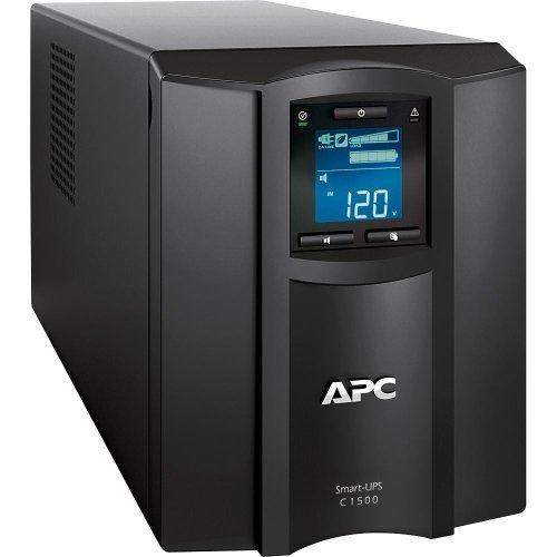 APC Smart-UPS 1500VA UPS Battery Backup with Pure Sine Wave Output (SMC1500) Apc Smart Ups Lcd
