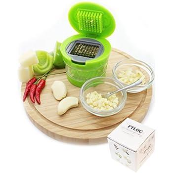 Love of Cooking Easy Garlic Press Garlic Chopper