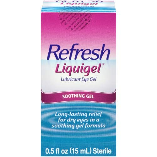 (Refresh Liquigel Lubricant Eye Gel, 0.5 fl oz (15mL) Sterile (Pack of 20))