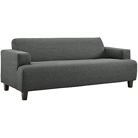 Novogratz Cozy Couch Gray