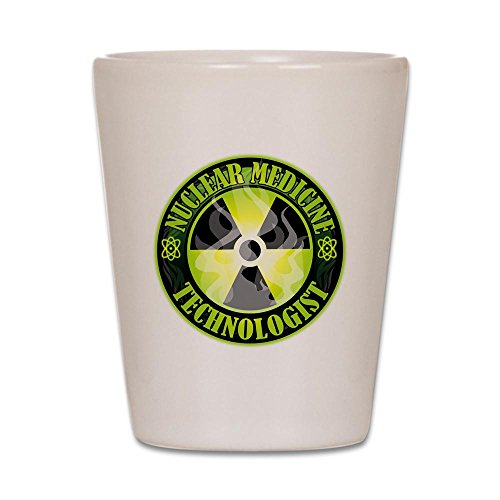 CafePress - Nuclear Medicine Technologist - Shot Glass, Unique and Funny Shot Glass (Nuclear Shot Glass)