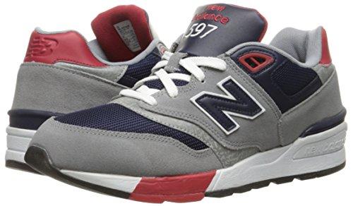 Noir Course Bleu Balance Chaussures De New Rouge Hommes Aab Gris 597 gris xXO18zwq