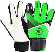 farawamu Goalkeeper Gloves, Full Finger Hand Protection Children Football Soccer Goalkeeper Goalie Gloves