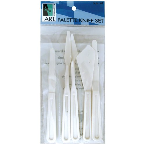 Disposable Craft Knife - Art Alternatives Plastic Painting Knife Set-