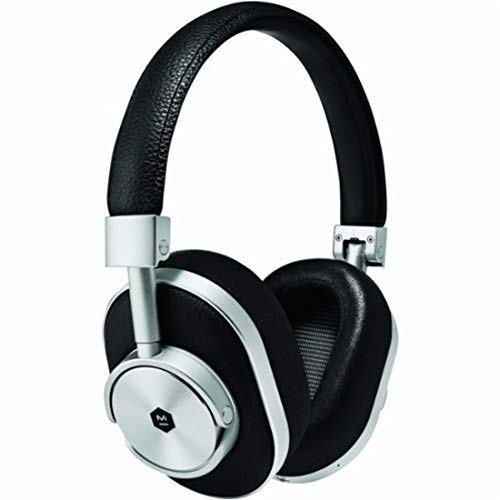 Master & Dynamic MW60 Wireless Over Ear Headphones, Silver/Black, One Size
