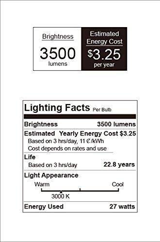 27w 250 Watt Equivalent A21 Dimmable Led Light Bulbs