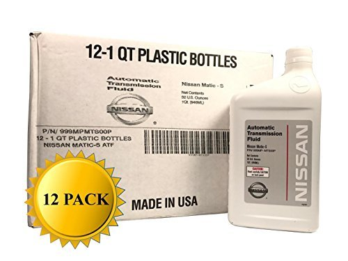 Genuine Nissan OEM Matic-S Transmission Fluid 999MP-MTS00P (12 Quarts)