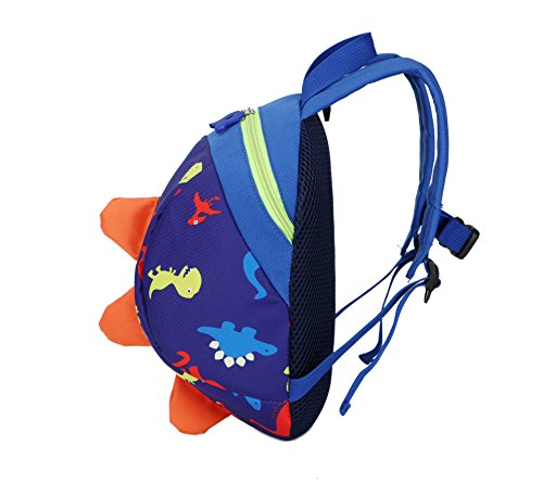 0acf31eb9cf5 Honeststar Toddlers Kids Dinosaur Backpack Bookbag for Preschool  Kindergarten Children Travel Lightweight Cartoon Backpack