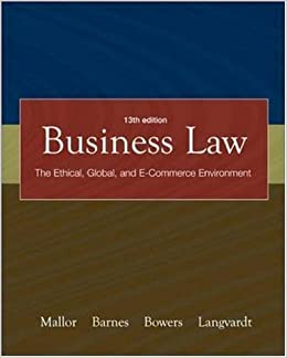 Business law by mallor 14th edition the best free software for your.
