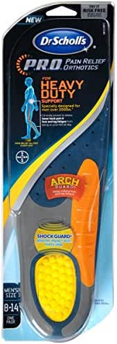 Dr. Scholl's P.R.O. Pain Relief Orthotics for Heavy Duty Support