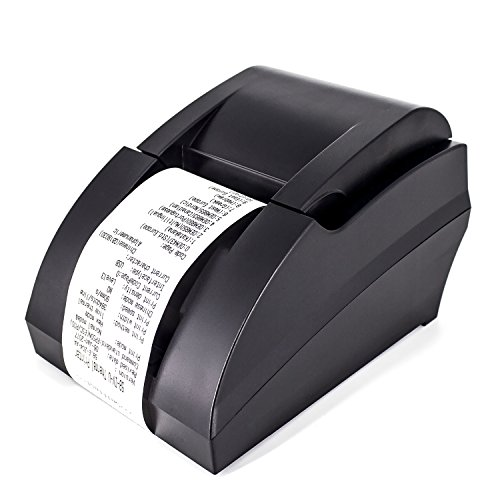 USB Thermal Receipt Printer,Symcode Ethernet/LAN, Serial Port – Auto Cutter – Cash Drawer Port – Paper Width 2 1/4″ (58mm) – Works on Windows XP/Vista/7/8/8.1/10 Uses