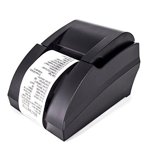 (USB Thermal Receipt Printer,Symcode Ethernet/LAN, Serial Port - Auto Cutter - Cash Drawer Port - Paper Width 2 1/4