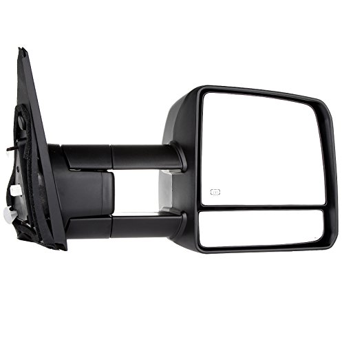 SCITOO Toyota Towing Mirrors High Performance Passenger Side Automotive Exterior Mirrors 07-16 Toyota Tundra Turn Signal Heated Power Control Features