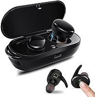 PZX Bluetooth イヤホン【タッチ型】左右分離型 片耳でも両耳でも使用可能 高音質 マイク付き 超軽量 Bluetooth4.2 ワイヤレス ブルートゥース 充電機能搭載収納ケース iPhone Android対応