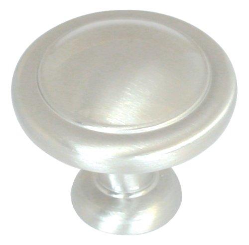 Amerock BP1387G9 Reflections Round Knob, Sterling Nickel, (Sterling Nickel Finish)