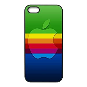 Colorful Apple Logo iPhone 4 4s Cell Phone Case Black DIY GIFT pp001_8122518