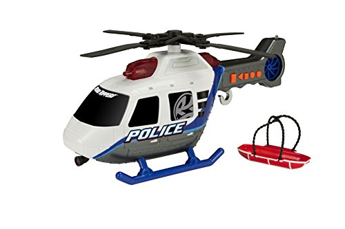"""Toy State 14"""" Rush And Rescue Police And Fire - Police Helicopter"""