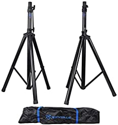Pair Rockville RVES1 Adjustable Tripod D...