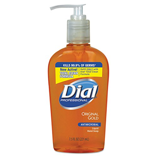 - Dial Professional 84014CT Gold Antimicrobial Hand Soap, Floral Fragrance, 7.5oz Pump Bottle (Case of 12)