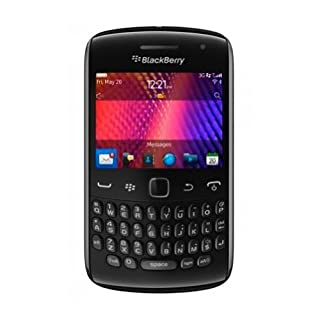 Blackberry Curve 9360 Unlocked Quad-Band 3G GSM Phone with 5MP Camera, QWERTY Keyboard, GPS and Wi-Fi - Black