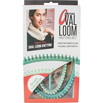 Amazon Leisure Arts Ultimate Oval Loom Knitting Set For