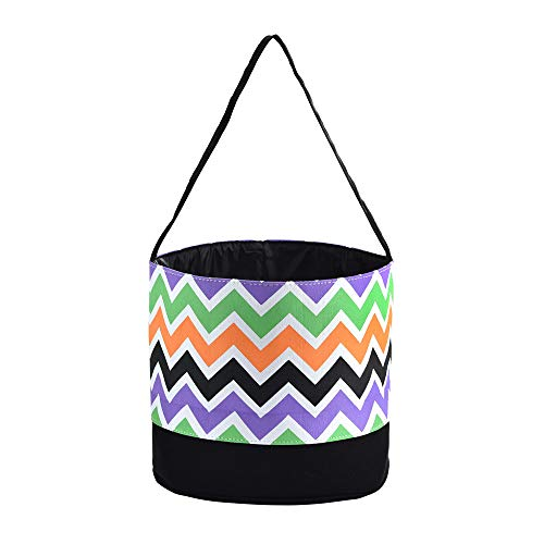 ONGLYP X.Sem Easter Bunny Bags - 100% Canvas Easter Basket - Easter Party Supplies - Carrying Gifts and Eggs for Kids (Multicolor)]()